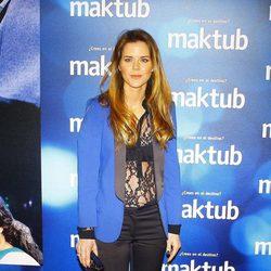 Amelia Bono en el estreno de 'Maktub'