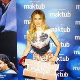 Vanesa Romero en el estreno de 'Maktub'