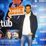 Iker Lastra en el estreno de 'Maktub'