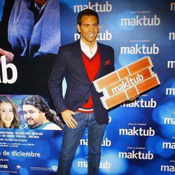 David Meca en el estreno de 'Maktub'
