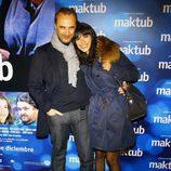 Pedro Larrañaga y Maribel Verdú en el estreno de 'Maktub'