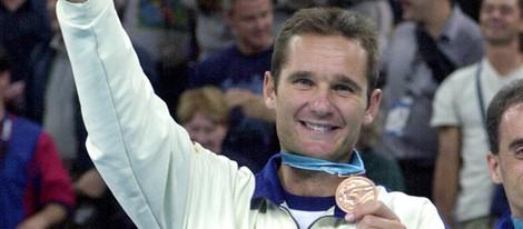 Iñaki Urdangarín, ganador de un bronce en Sidney 2000
