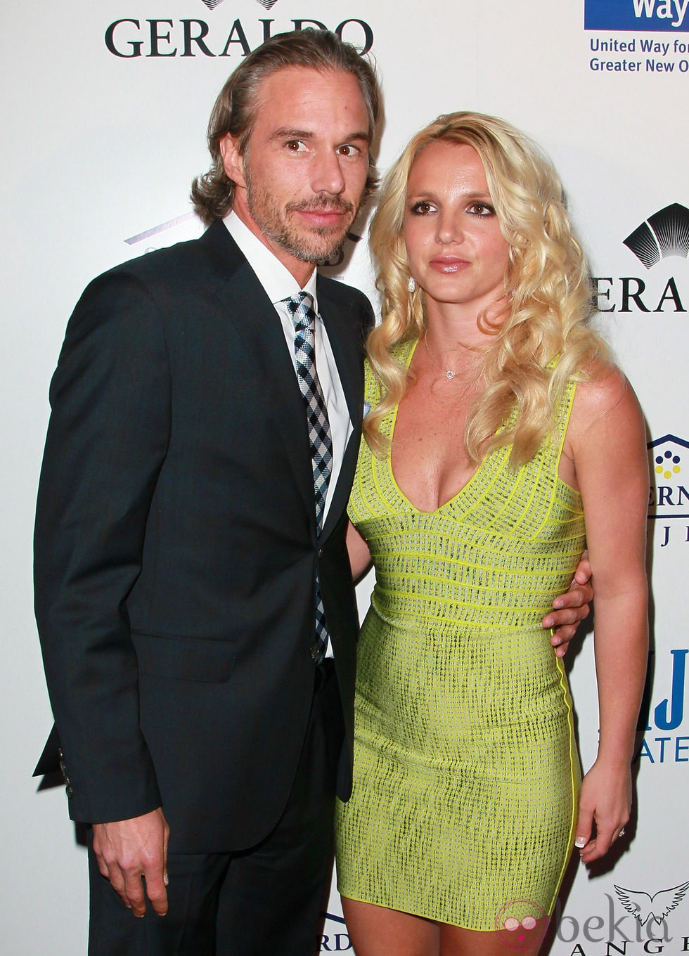 Britney Spears y Jason Trawick