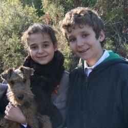 Felicitación de Navidad 2011 de la Infanta Elena y sus hijos Victoria Federica y Froilán