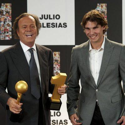 Rafa Nadal y Julio Iglesias