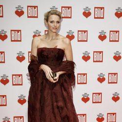 La Princesa Charlene de Mónaco en la gala solidaria 'Ein Herz Fuer Kinder' de Berlín