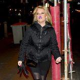 Lydia Lozano en la fiesta de Navidad 2011 de La Fábrica de la Tele