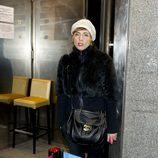 Sandra Barneda en la fiesta de Navidad 2011 de La Fábrica de la Tele