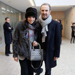 Maribel Verdú y Pedro Larrañaga en la entrega de los Premios de Cultura de Madrid