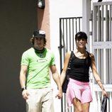 Fernando Alonso y Raquel del Rosario en Miami
