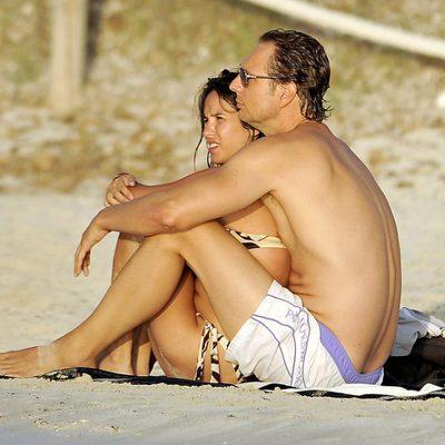 Paula Prendes y Javier Cárdenas en Ibiza