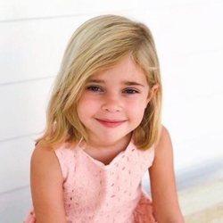 Leonor de Suecia en su cinco cumpleaños