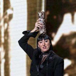 Rossy de Palma tras ganar un Premio César 2019