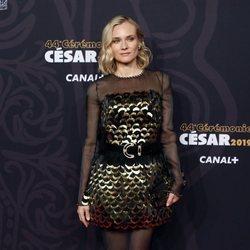 Diane Kruger en la alfombra roja de los Premios César 2019