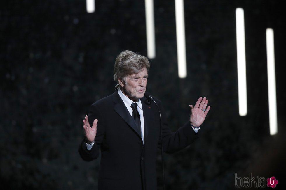 Robert Redford en los Premios César 2019