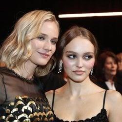 Diane Kruger y Lily-Rose Depp en los Premios César 2019