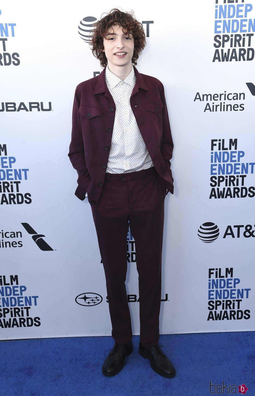 Finn Wolfhard en los Spirit Awards 2019