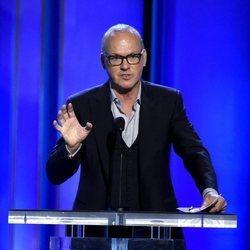 Michael Keaton en la gala de los Spirit Awards 2019