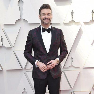 Ryan Seacrest en la alfombra roja de los Premios Oscar 2019