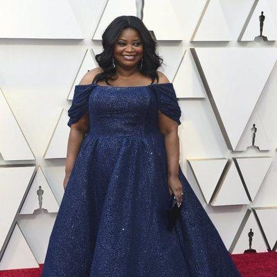 Octavia Spencer en la alfombra roja de los Premios Oscar 2019