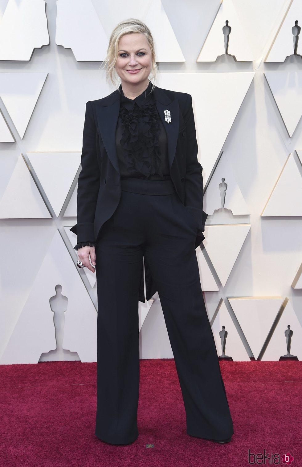Amy Poehler en la alfombra roja de los Premios Oscar 2019