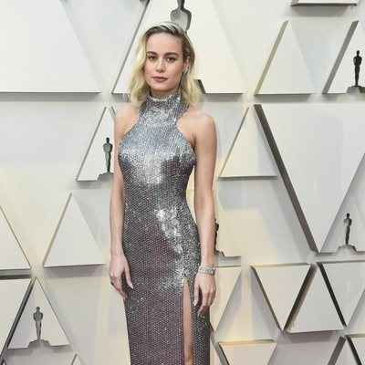 Brie Larson en la alfombra roja de los Premios Oscar 2019