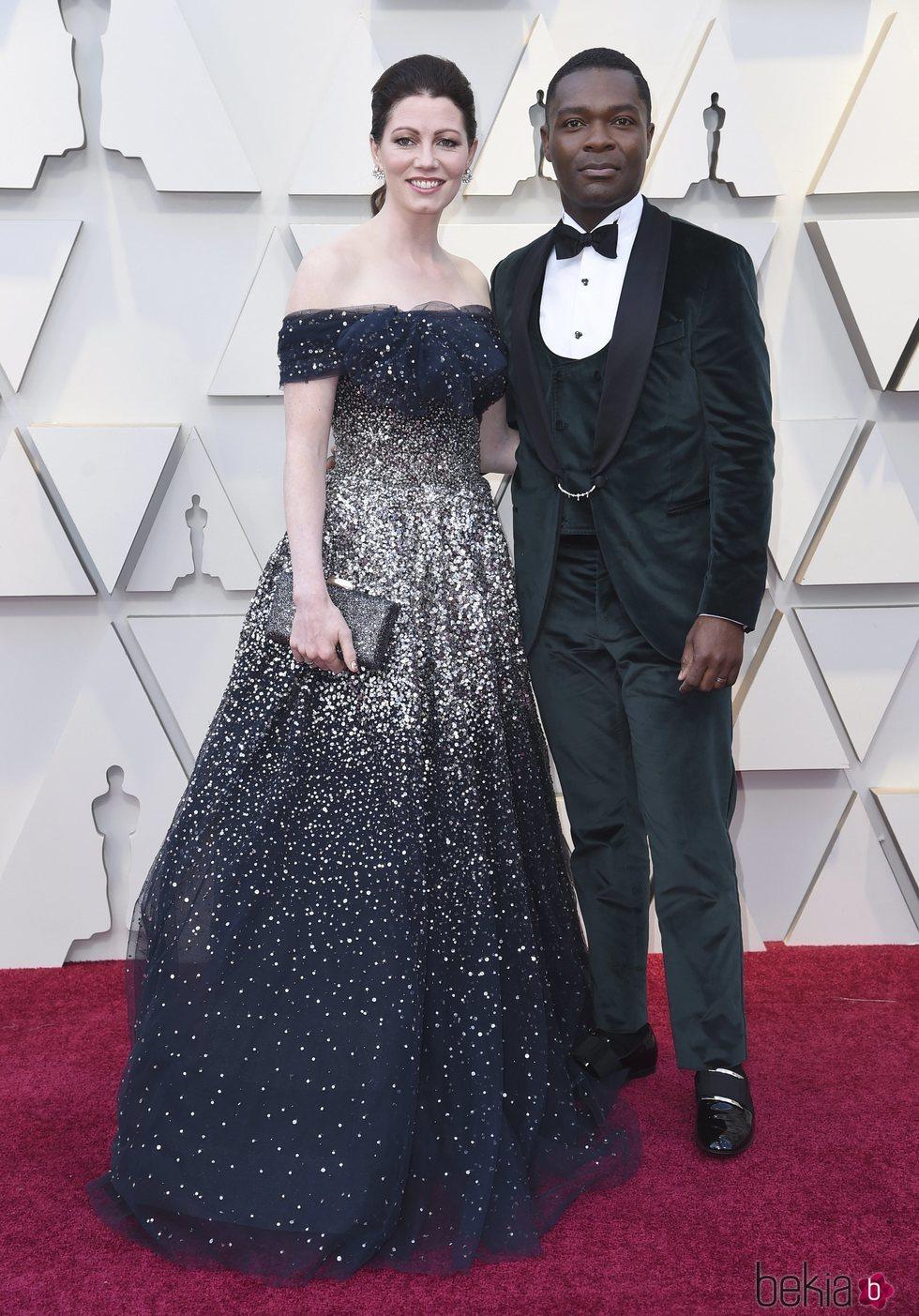 David Oyelowo y Jessica Oyelowo en la alfombra roja de los Premios Oscar 2019