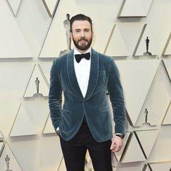Chris Evans en la alfombra roja de los Premios Oscar 2019
