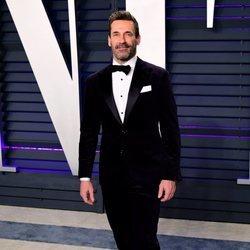 Jon Hamm en la fiesta Vanity Fair tras los Premios Oscar 2019