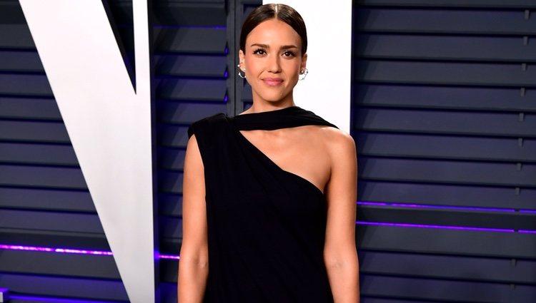 Jessica Alba en la fiesta Vanity Fair tras los Premios Oscar 2019