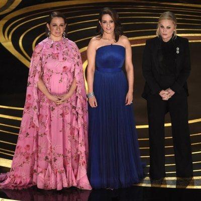 Maya Rudolph, Tina Fey y Amy Poehler durante la gala de los Premios Oscar 2019