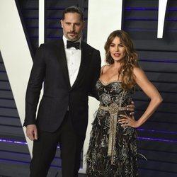 Sofía Vergara y Joe Manganiello en la fiesta Vanity Fair tras los Premios Oscar 2019