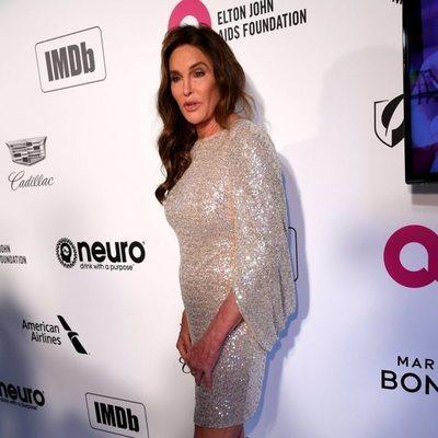 Caitlyn Jenner en la fiesta de Elton John tras los Premios Oscar 2019