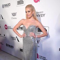Pixie Lott en la fiesta de Elton John tras los Premios Oscar 2019