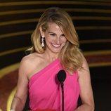 Julia Roberts anunciando el Oscar 2019 a Mejor película