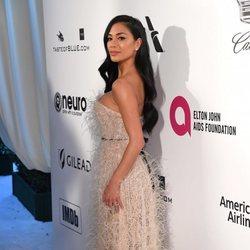 Nicole Scherzinger en la fiesta de Elton John tras los Premios Oscar 2019