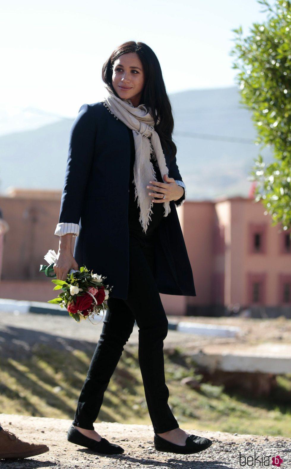 Meghan Markle en Marruecos