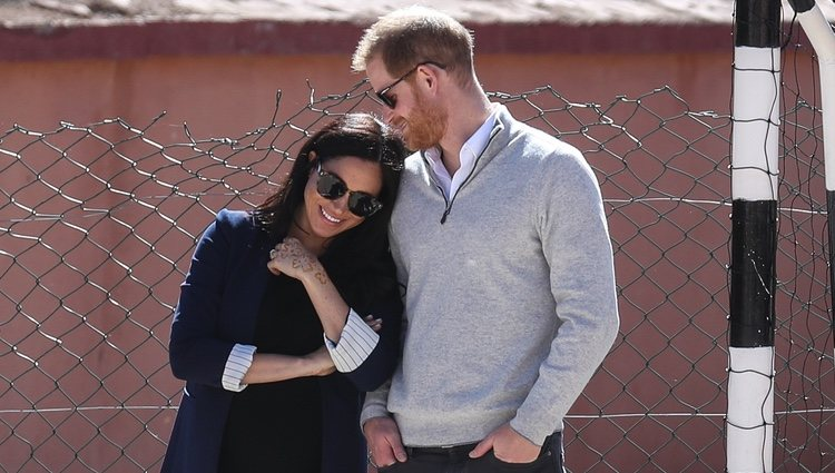 El Príncipe Harry y Meghan Markle, muy enamorados en Marruecos