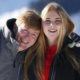 Guillermo Alejandro y Amalia de Holanda, muy cómplices en Lech