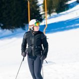 Amalia de Holanda esquiando en Lech