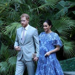 El Príncipe Harry y Meghan Markle se despiden de Marruecos