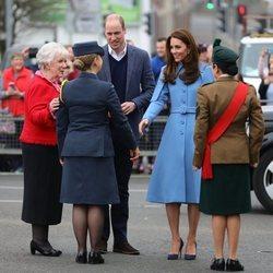 Los Duques de Cambridge visitan Irlanda del Norte