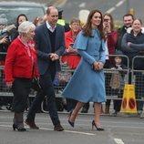 Llegada de los Duques de Cambridge a Ballymena