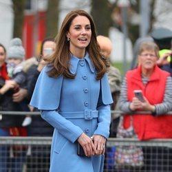 Kate Middleton muy sonriente en Irlanda