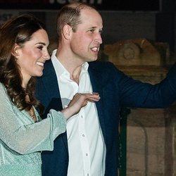 Los Duques de Cambridge en Belfast