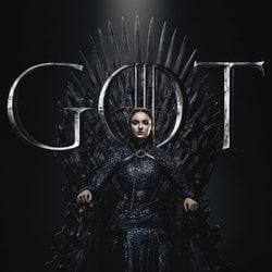 Foto cartel temporada final 'GOT' Sansa Stark