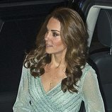 El vestido brillante de Kate Middleton