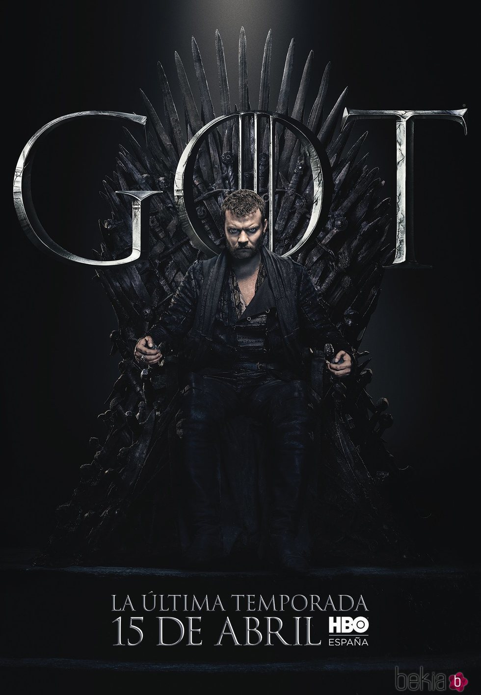 Foto cartel temporada final 'GOT' Euron Greyjoy