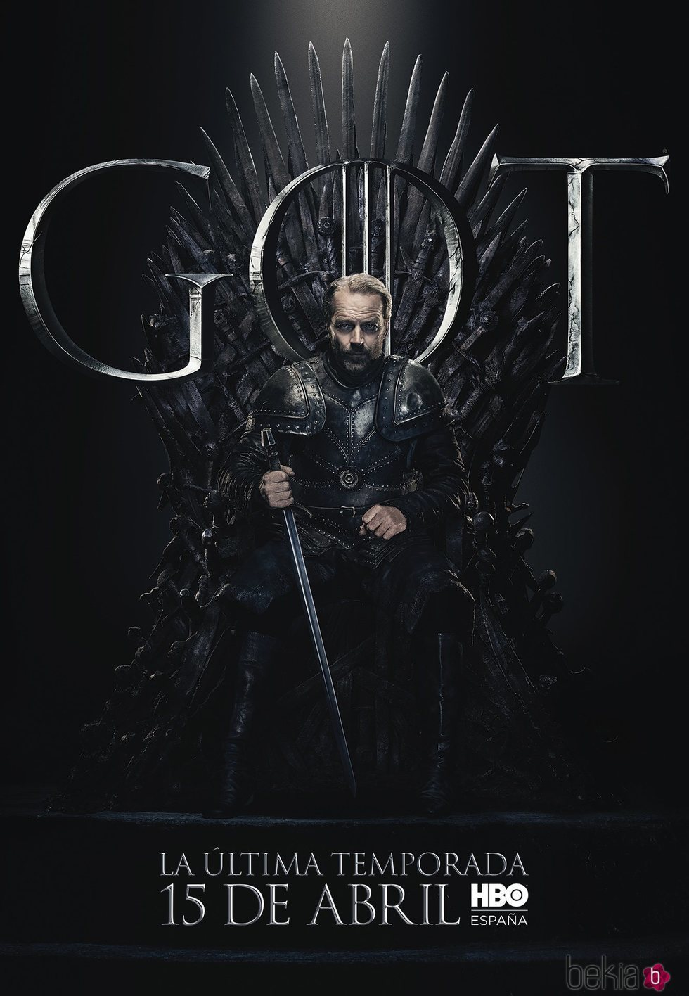 Foto cartel temporada final 'GOT' Jorah Mormont