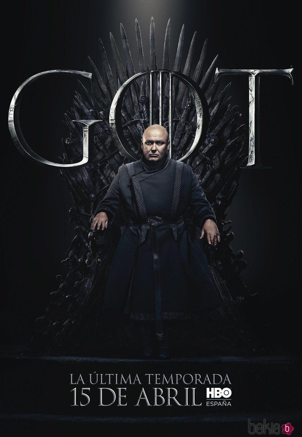 Foto cartel temporada final 'GOT' Varys